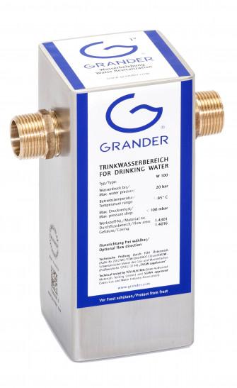Dispositifs de vivification d'eau GRANDER®
