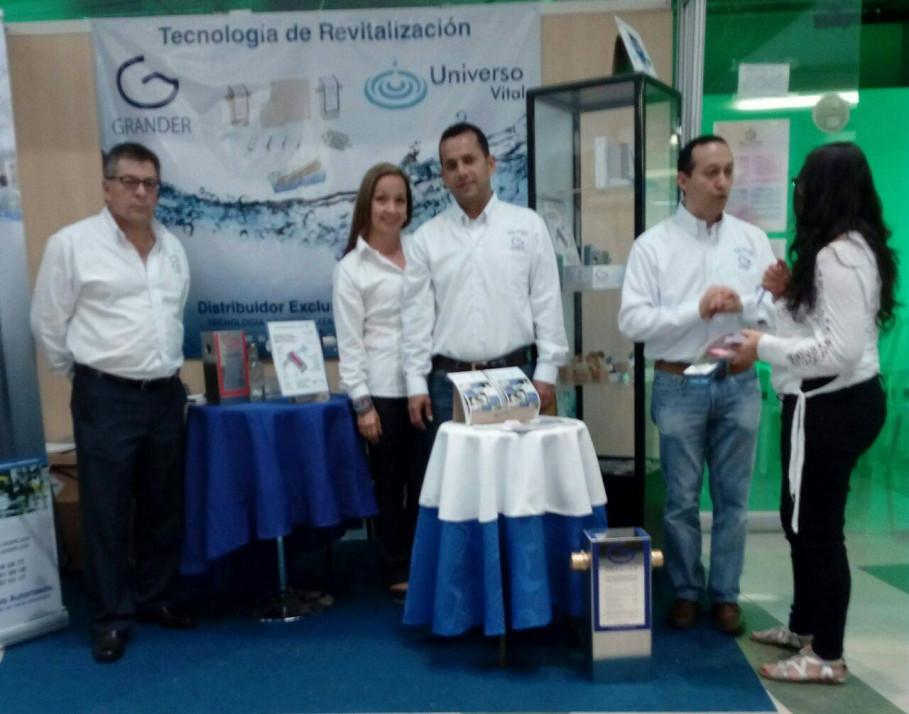 GRANDER® in Kolumbien und Nordamerika präsent