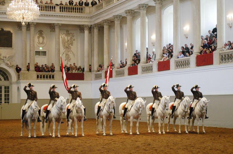 École espagnole d'équitation - Vienne
