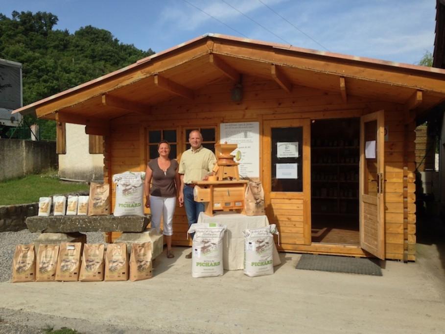 MOULIN BIO  PICHARD in Malijai - DIE Biomühle in der Haute Provence
