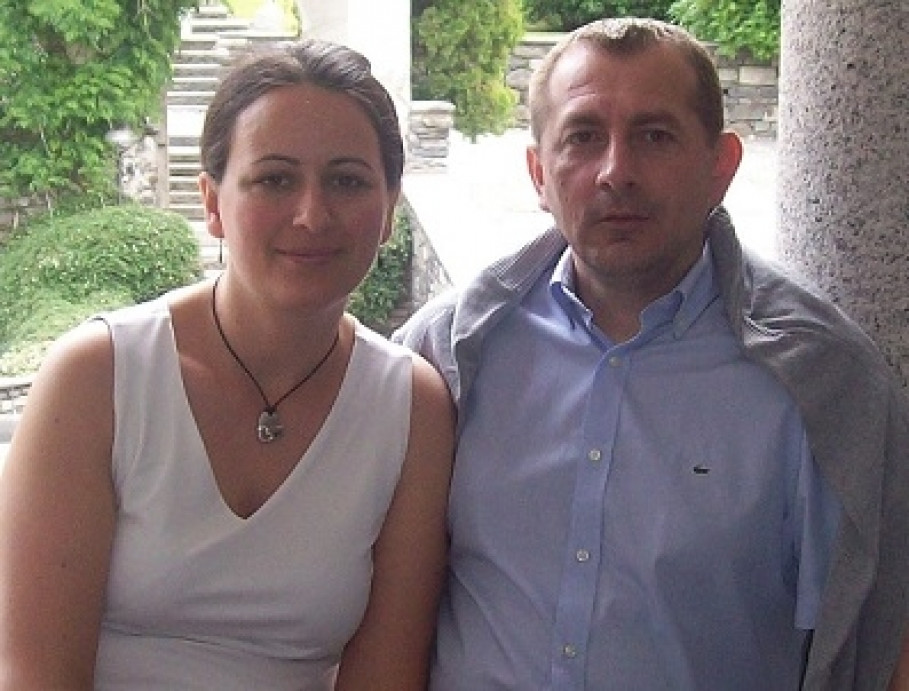 Martina und Zeljeko Petrovic