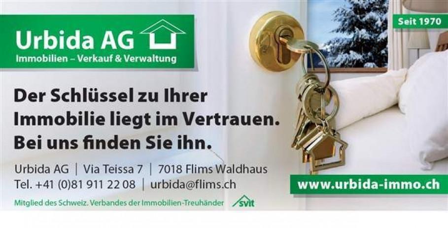 Urbida AG, 7018 Flims-Waldhaus, CH