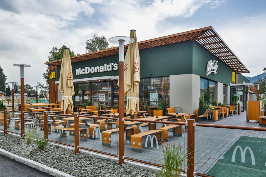 L'eau GRANDER® chez McDonald's
