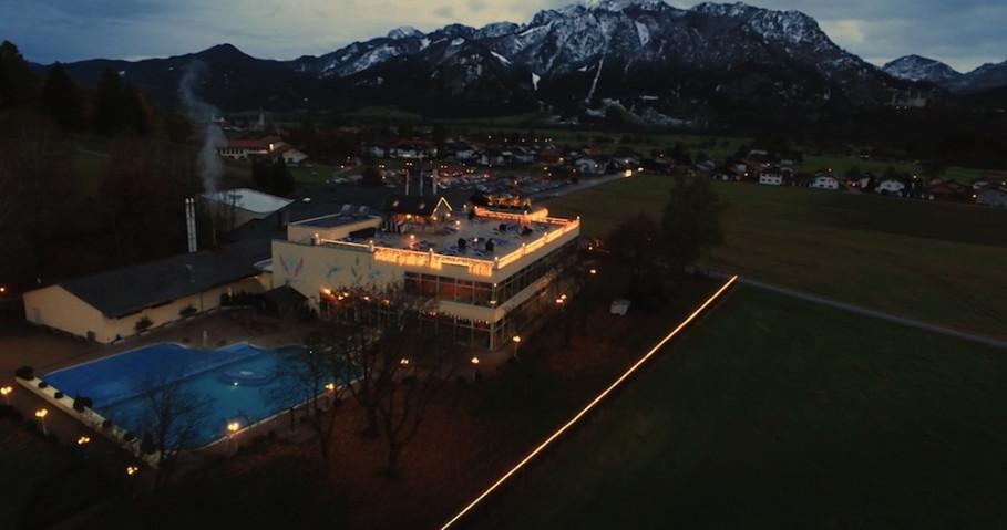 Kristall-Therme à Schwangau