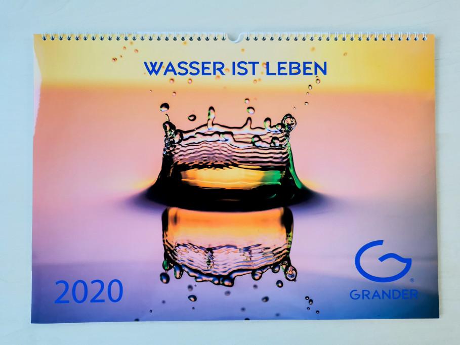 Gewinnen Sie einen GRANDER®-Wasserkalender 2020