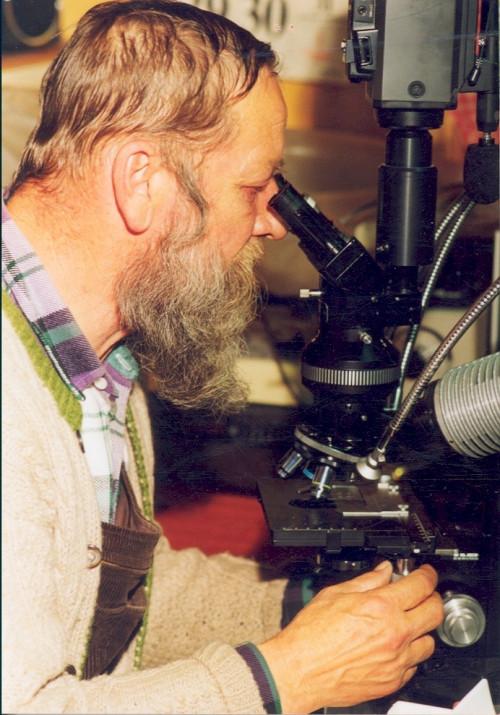 Sous le microscope