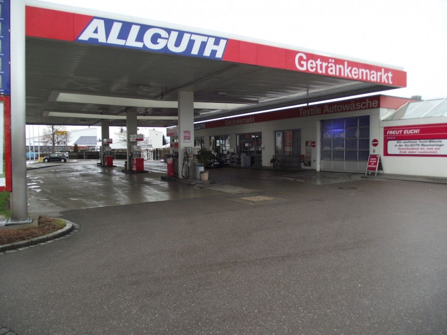 GRANDER® dans la station service Allguth à Landsberg am Lech