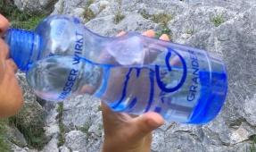 Quelle agréable manière de boire de l'eau !