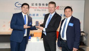 GRANDER®-Presse-Event in Hong Kong