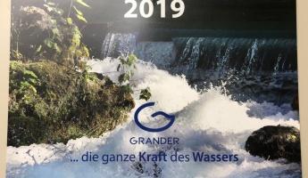 GRANDER®-Wasserkalender 2019 zu gewinnen