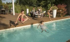 Mit GRANDER® wird Ihr Schwimmbad zu einem Quell des Wohlbefindens