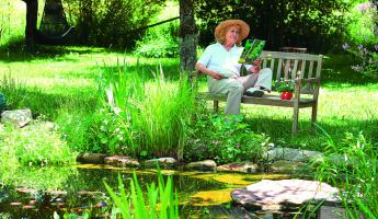 Mit GRANDER® wird der Garten zur Naturoase
